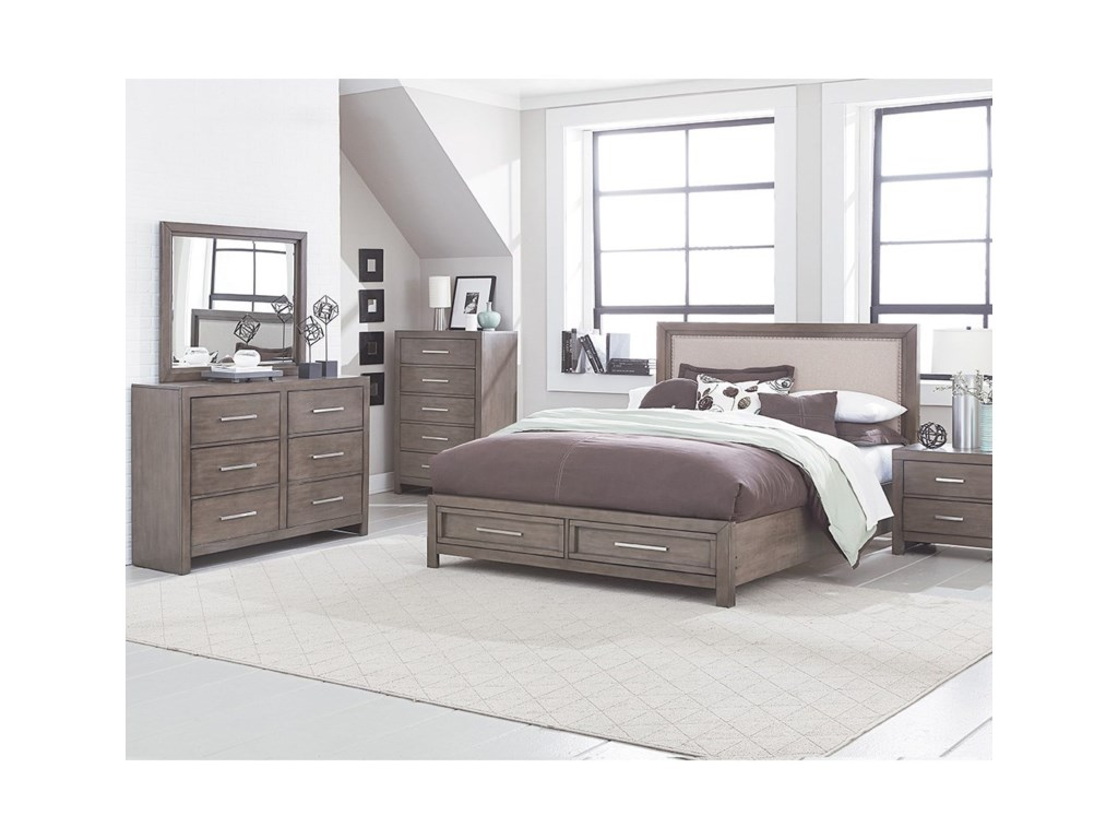 Standard Furniture CachetUpholstered Queen Bed