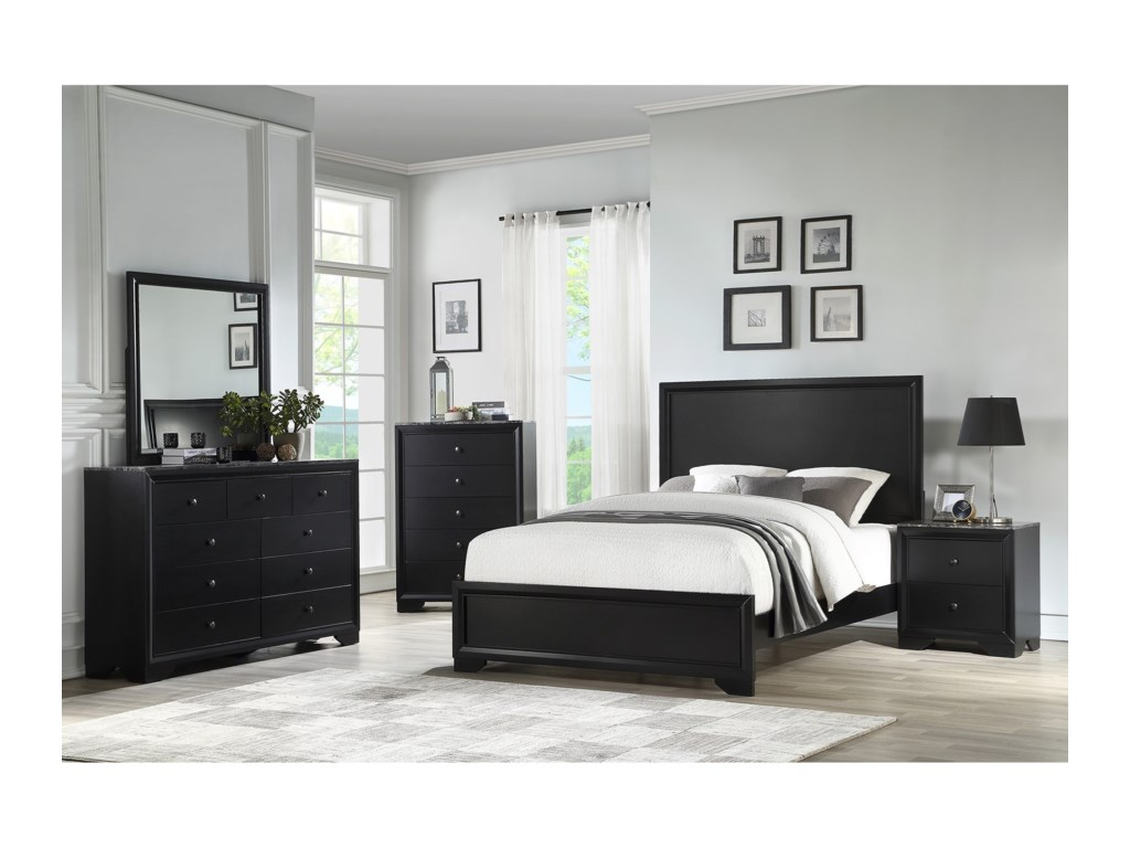 Standard Furniture Canaan 93350King Panel Bed