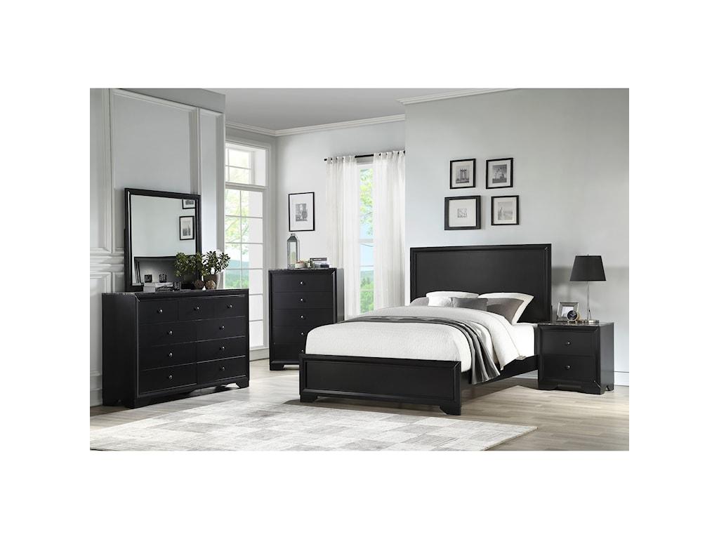 Standard Furniture Canaan 93350Dresser and Mirror Combination