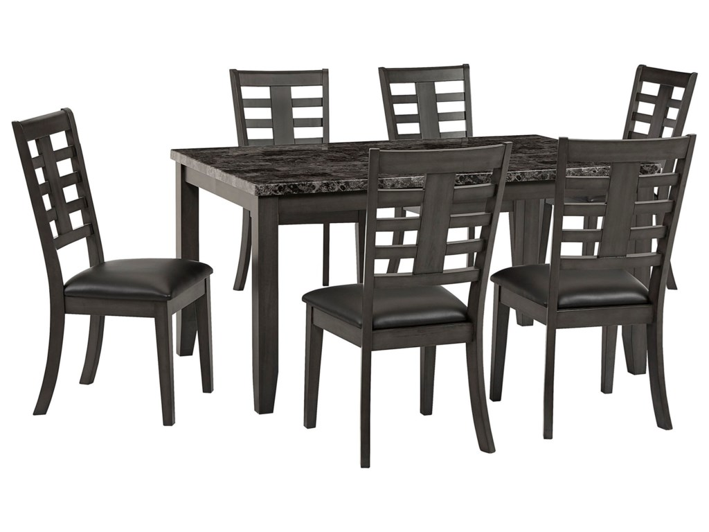 Standard Furniture Canaan7-Piece Dining Table & Chair Set