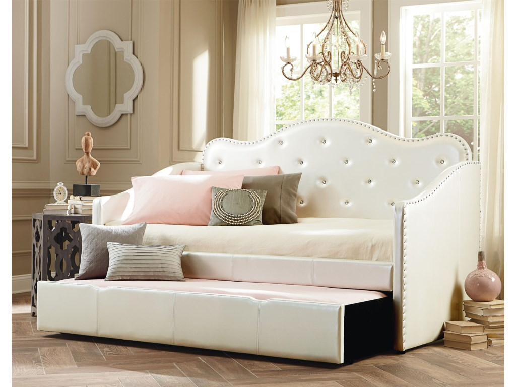 Standard Furniture CarolineTwin Upholstered Bed