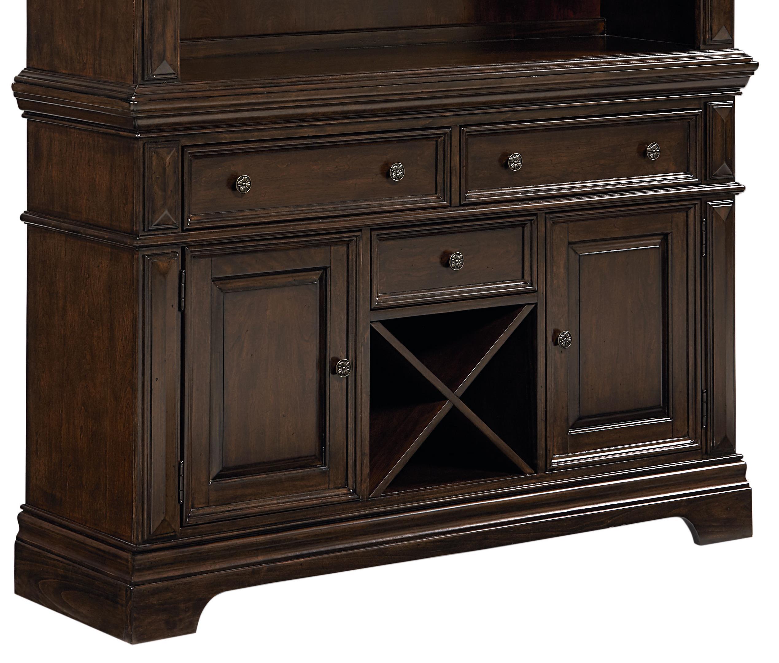 Standard Furniture Charleston Buffet With Wine Storage