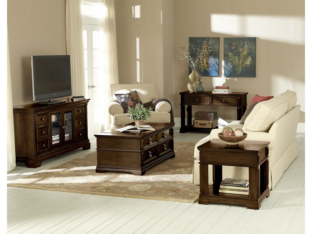 Standard Furniture CharlestonLift Top Cocktail Table