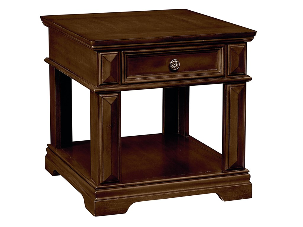 Standard Furniture Charleston1 Drawer End Table