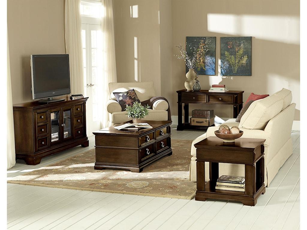 Standard Furniture Charleston1 Drawer End Table