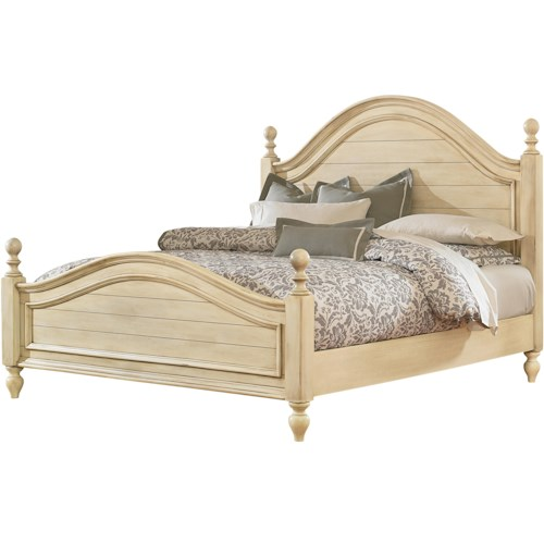 Standard Furniture Chateau Queen Bed with Arched Headboard and Footboard
