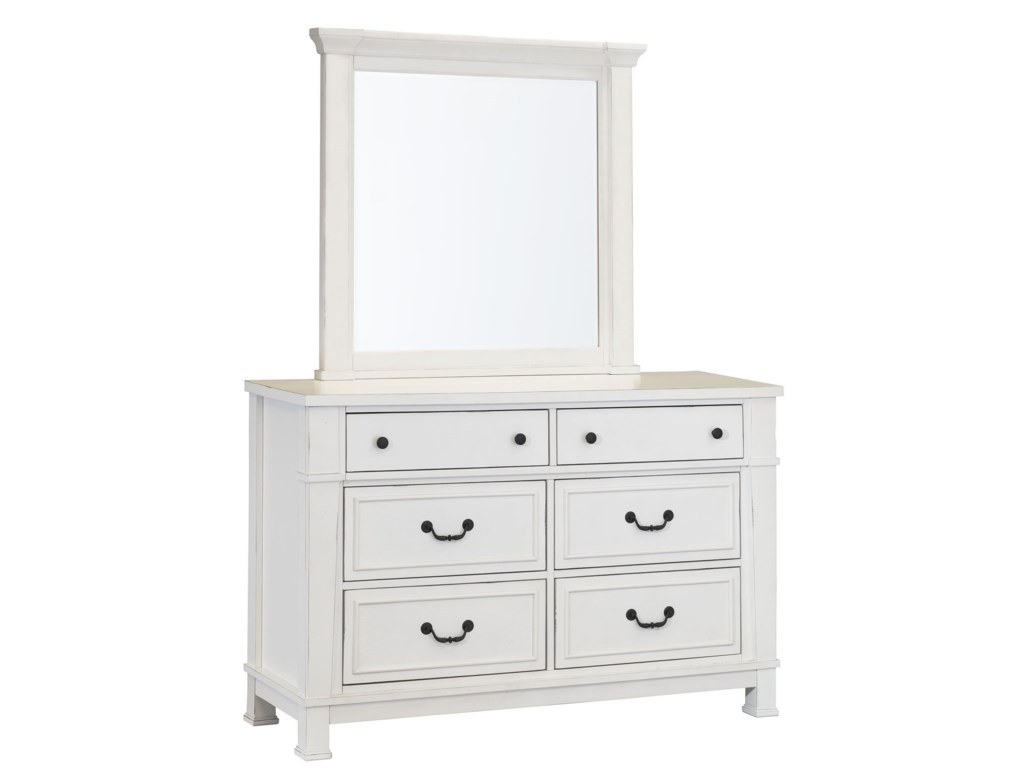 Standard Furniture Chesapeake BayYouth Dresser and Mirror Set