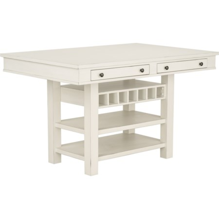 Counter Height Storage Table