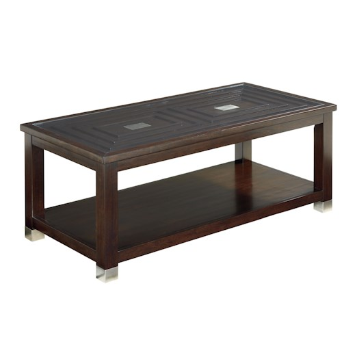 Standard Furniture Colton Modern Cocktail Table Standard Furniture Cocktail Or Coffee Table