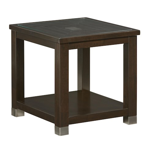 Standard Furniture Colton Contemporary End Table