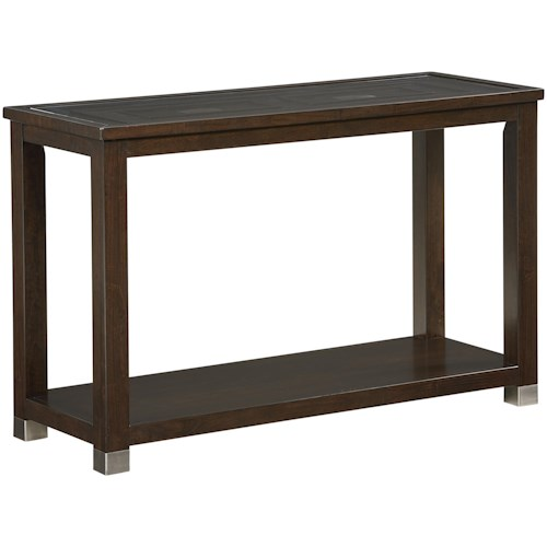 Zenith Colton Contemporary Sofa Table EFO Furniture Outlet - Colton coffee table