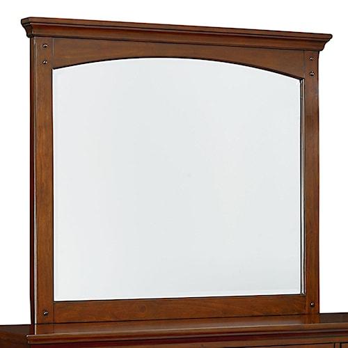 Standard Furniture Cooperstown Casual Vertical Dresser Mirror