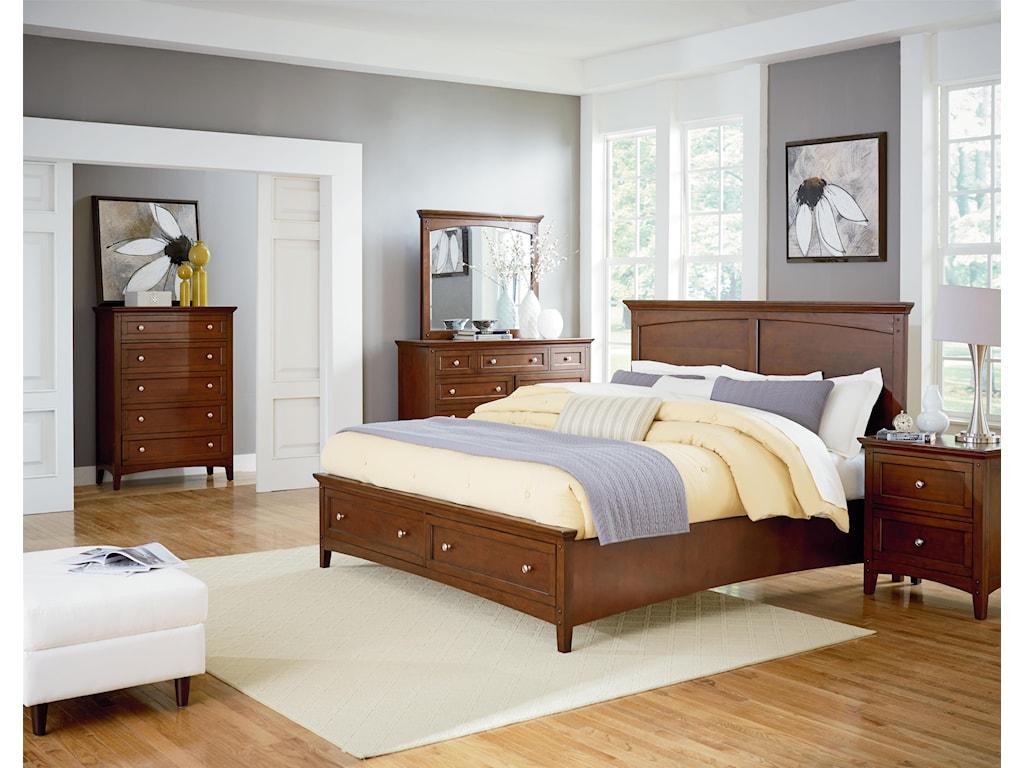 VFM Signature CooperstownKing Storage Bed