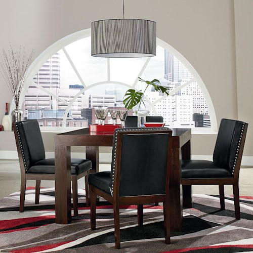 Standard Furniture Couture Elegance Square Table and Chair Set
