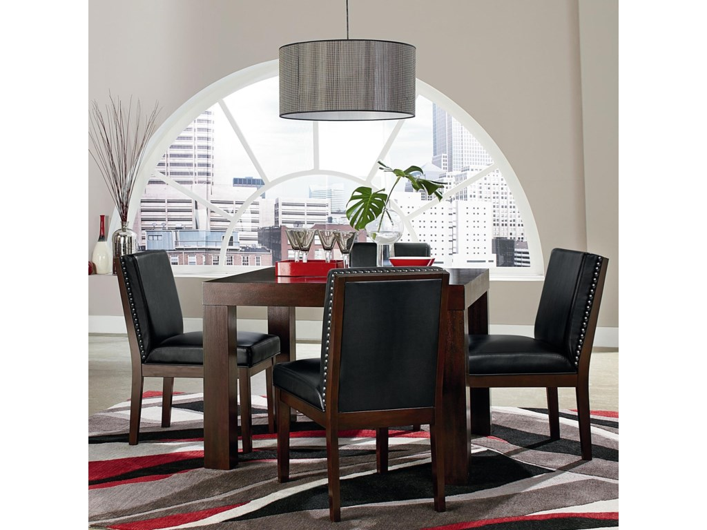 Couture Elegance Square Table And Chair Set By Standard Furniture