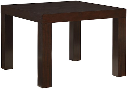 Standard Furniture Couture Elegance Square Parsons-Style Dining Table