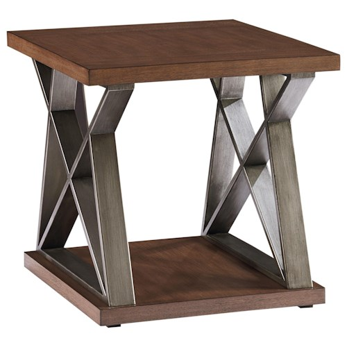 Standard Furniture Cumberland Contemporary End Table