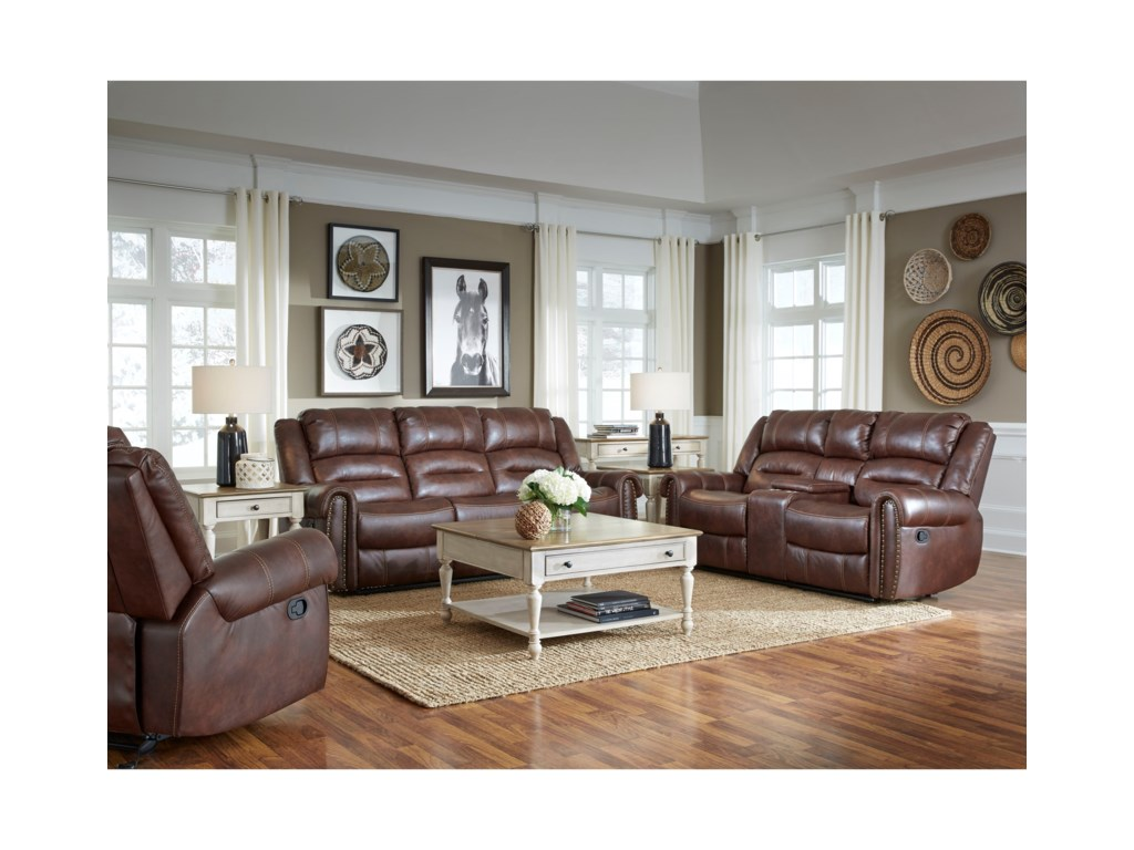 Cunningham Casual Living Room Group