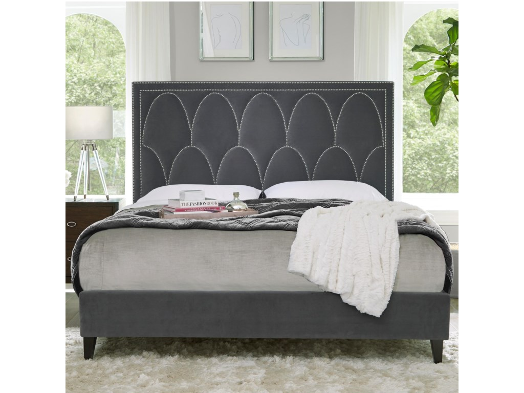 Standard Furniture DelanoQueen Upholstered Bed