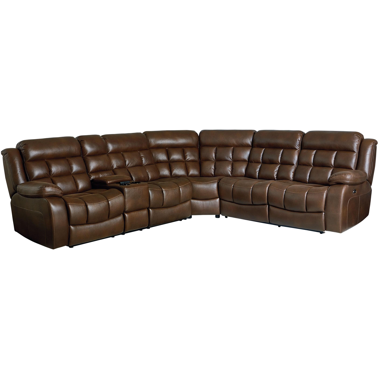 Standard Furniture Destination4 Seat Power Reclining Sectional Sofa ...