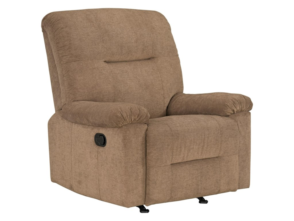 Standard Furniture Dover Casual Style Manual Rocker Recliner ...