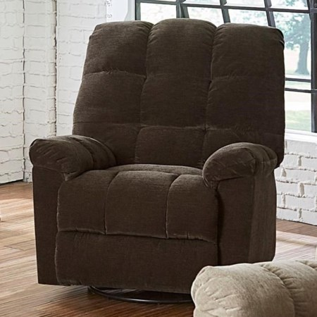 Manual Glider Swivel Recliner