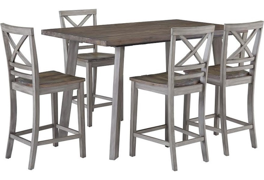Fairhaven Counter Height Table And Chair Set