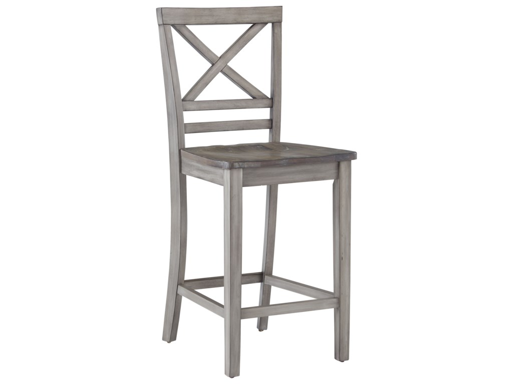 Standard furniture fairhavencounter height barstool