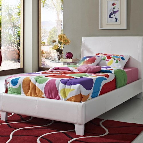 Standard Furniture Fantasia Twin Upholstered Youth Bed