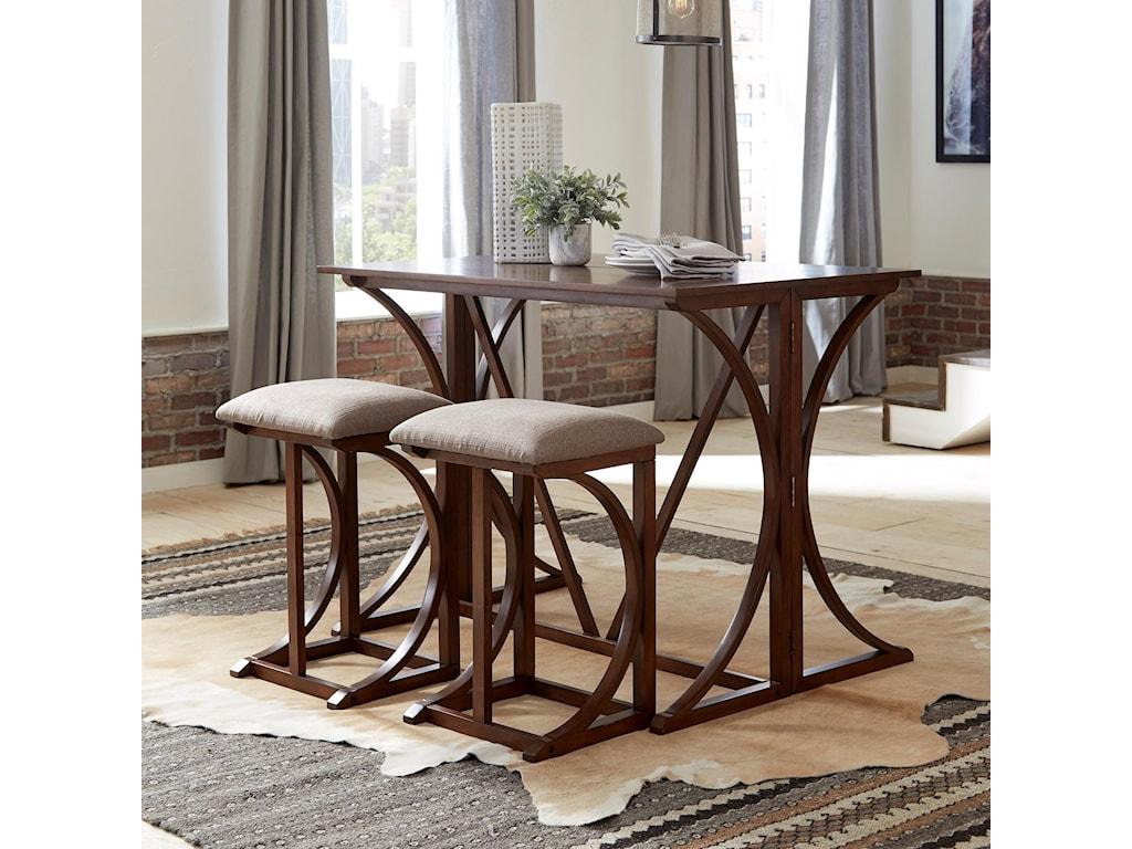 Standard Furniture Folding Bar BrentwoodBar Stool 2-Pack