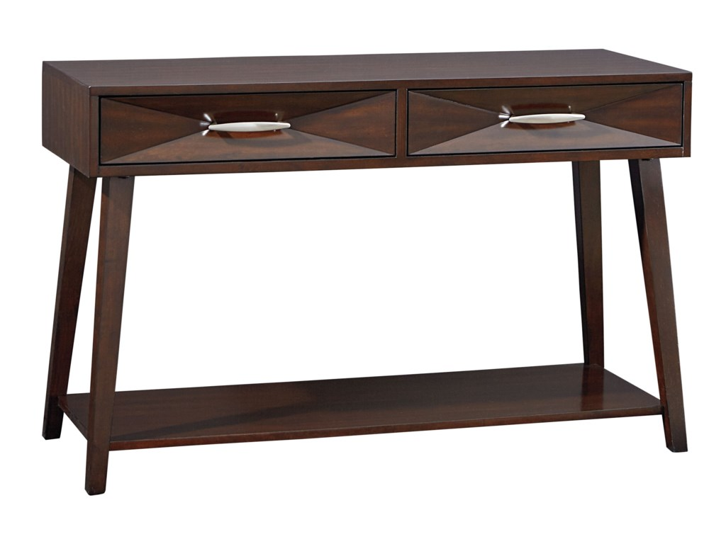 Standard Furniture Forsythe Contemporary Drawer Shelf Console - Standard console table height