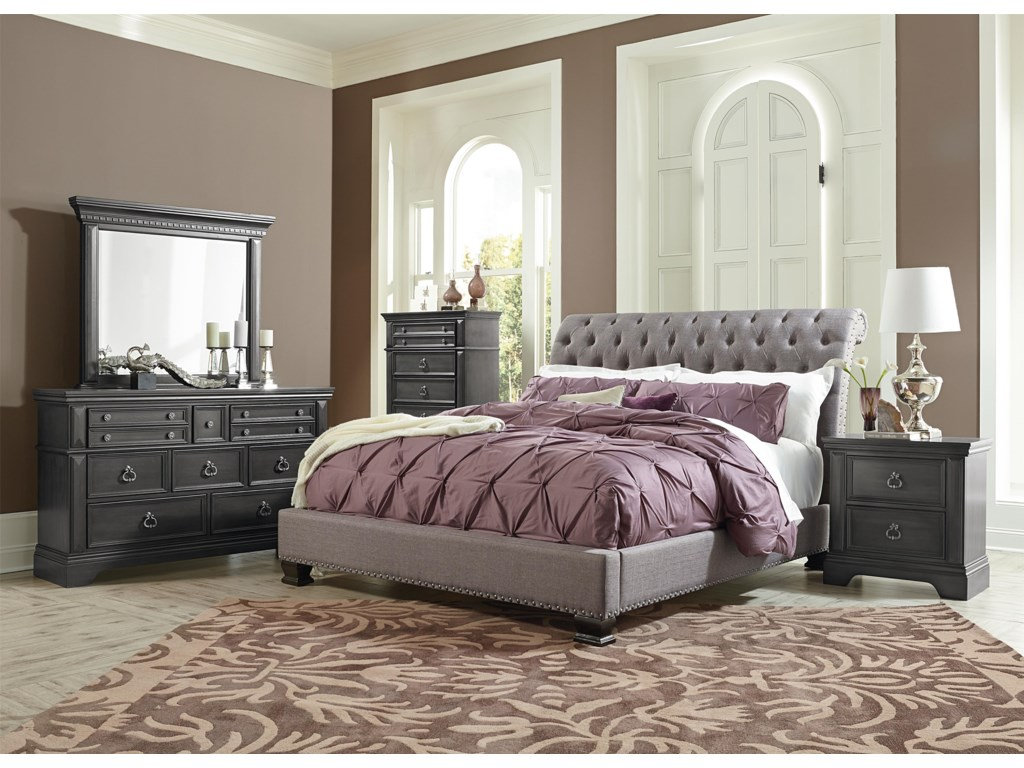 Standard Furniture GarrisonQueen Upholstered Bed