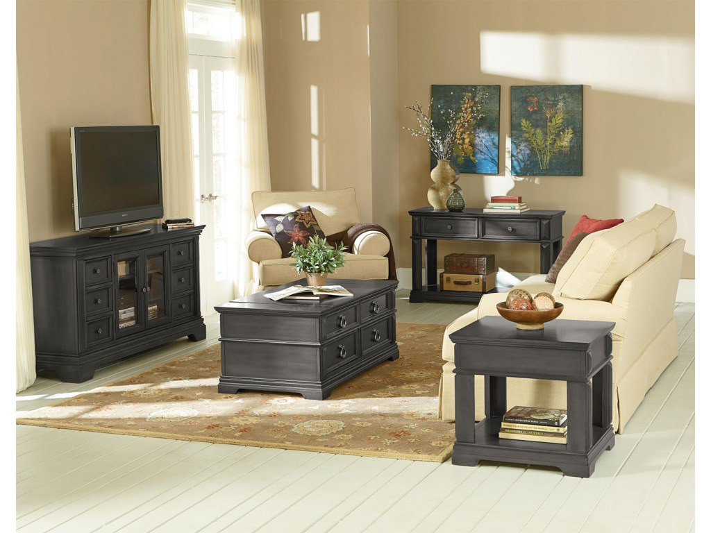 Standard Furniture GarrisonEnd Table with Drawer