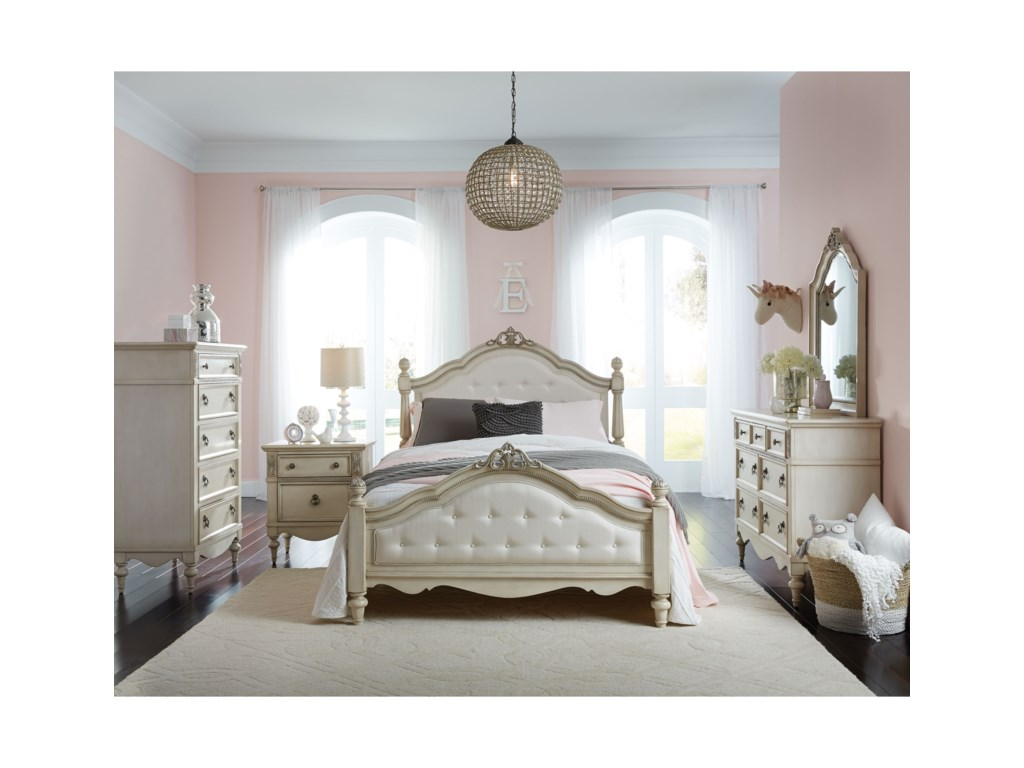 Standard furniture gisellefull bedroom group bed shown may not represent size indicated