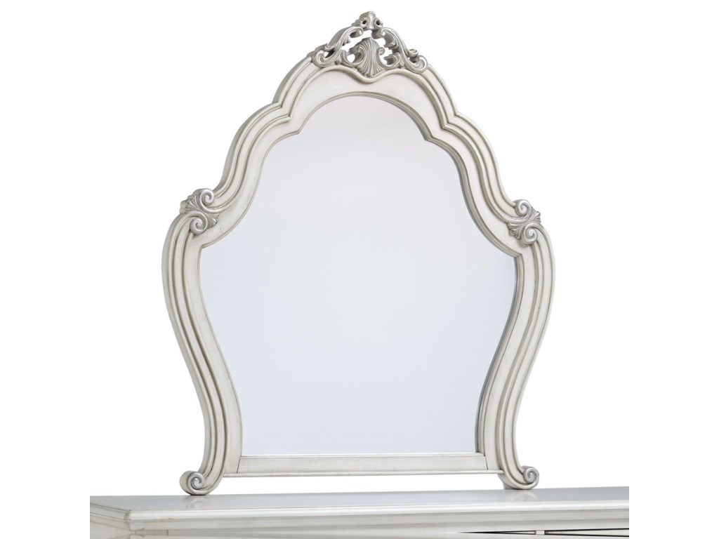 Standard Furniture GiselleScrollwork Mirror