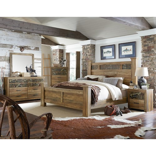Standard Furniture Habitat King Bedroom Group