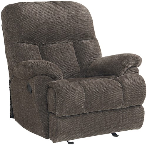Standard Furniture Harmon Transitional Recliner with Pillow Arms