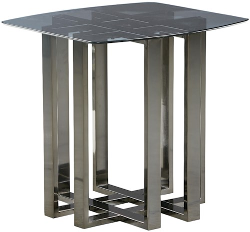Standard Furniture Hashtag Contemporary End Table