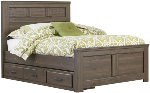 Standard Furniture Hayward Full Panel Bed with Underbed Storage
