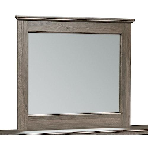 Standard Furniture Hayward Wood-Frame Mirror