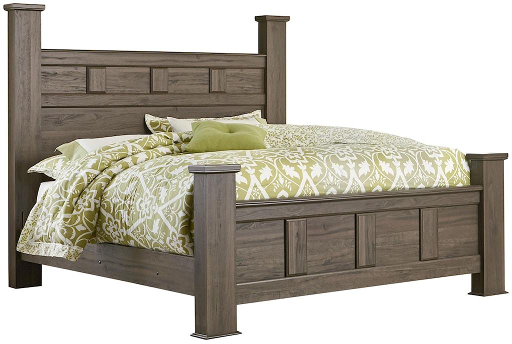 Standard furniture haywardqueen poster bed