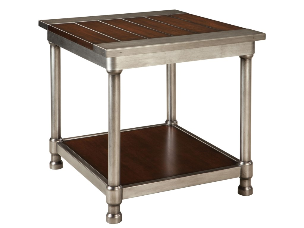 Standard Furniture Hudson 28112 Contemporary Single Shelf End Table ...