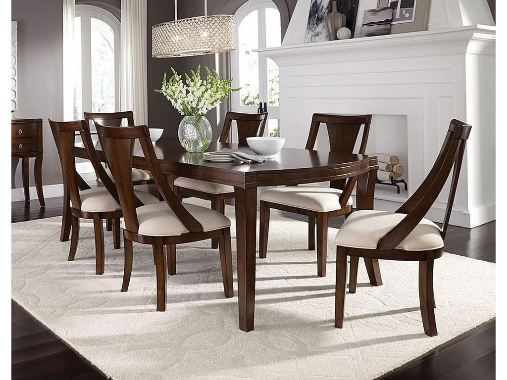 Standard Furniture Insignia Contemporary Dining Room Group Royal Furniture Dining 7 Or More Piece Sets