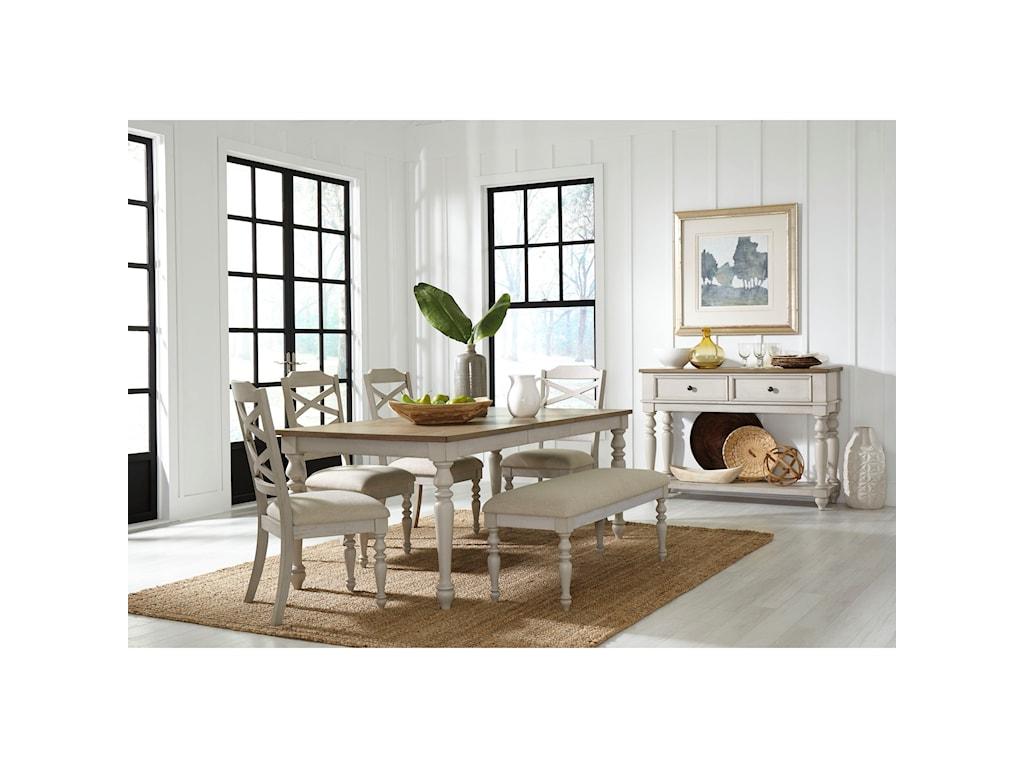 Standard Furniture Larson LightFormal Dining Room Group