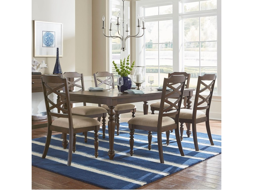 Standard Furniture Larson7 Piece Table and Chair Set
