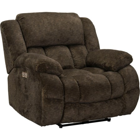 Recliner,Power-Charcoal
