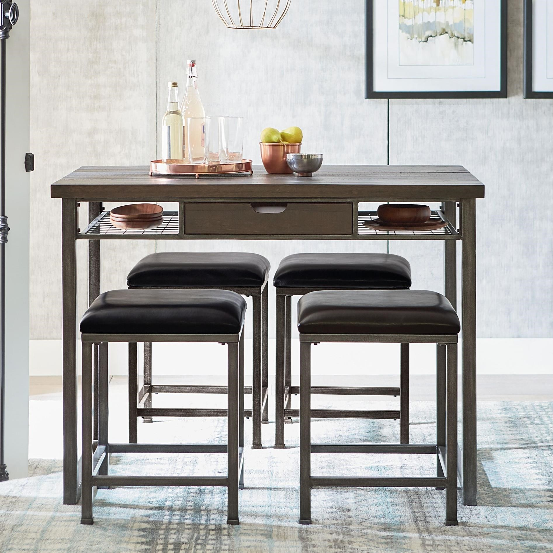 Standard Furniture Montvale Industrial Table And Chair Set