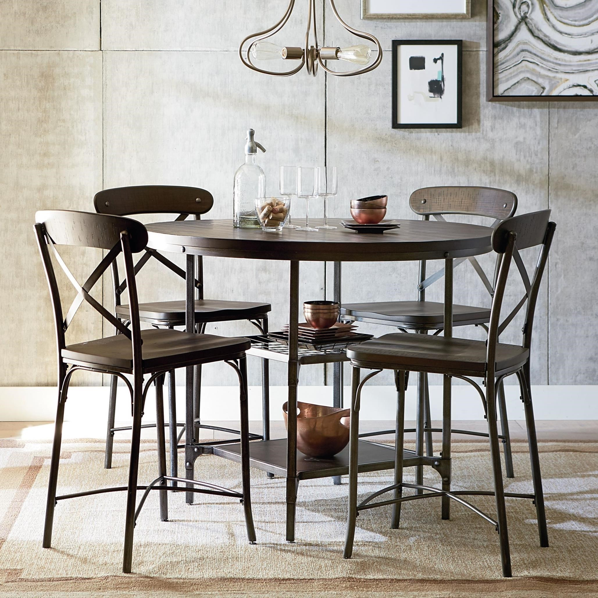 Attrayant Standard Furniture Montvale Rustic Bar Height Dining Set