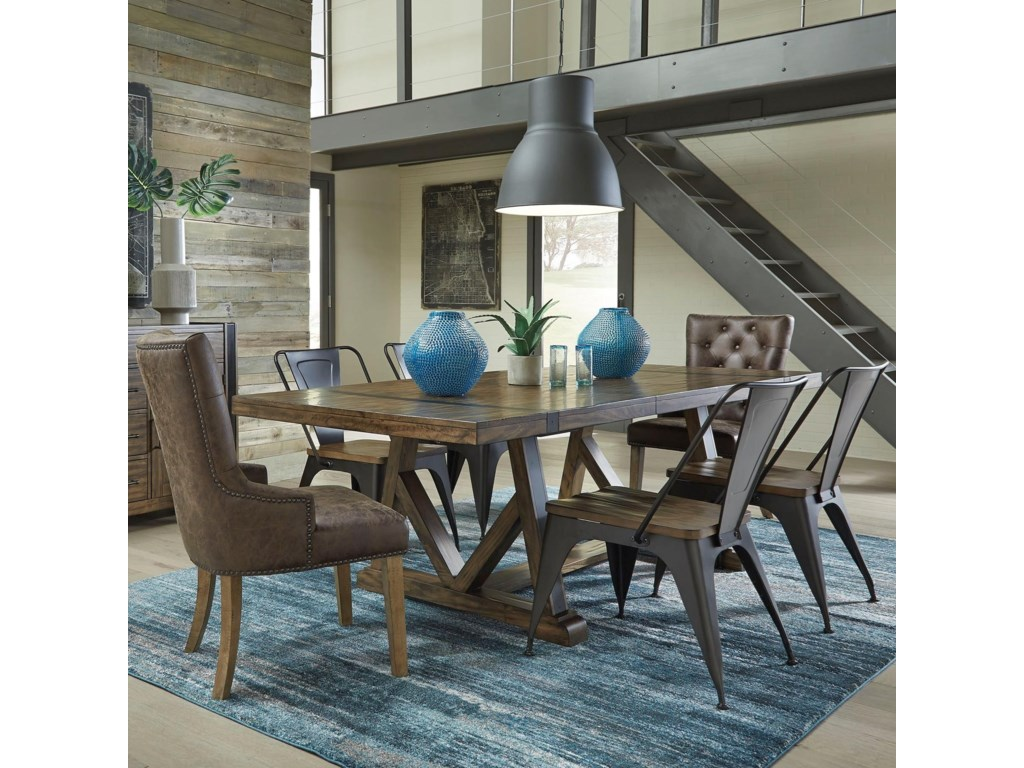 Standard Furniture Nelson7 Pc Dining Set
