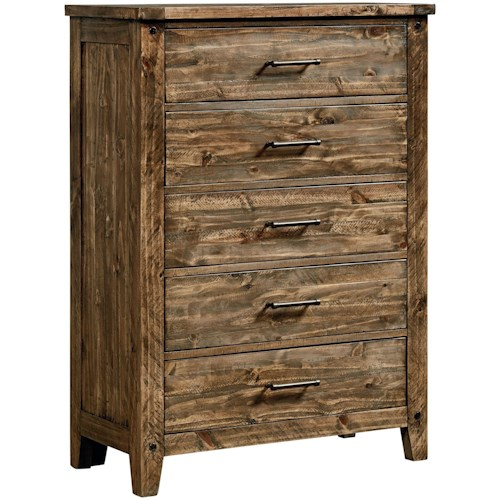 Standard Furniture Nelson Drawer Chest with Felt-Lined Top Drawer